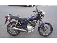Yamaha SR125 in good condition, great for commuting. MOT until February 2018