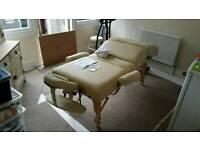 Professional massage bed