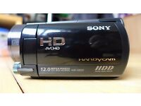 Sony HDR-XR520VE HD Camcorder with built in 240GB Hard Drive.
