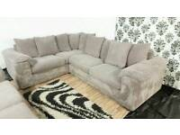 New/Ex display dfs jumbo cord corner+3 seater sofa*Free delivery*
