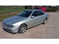 BREAKING BMW E39 3.0D AUTOMATIC 2001 IN SILVER