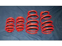 ***Urgent*** LO Sports 35mm Clio Mk 2 Lowering Springs - Red