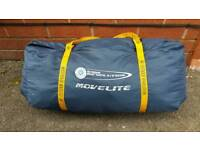 Outdoor revolution movelite size h 225 d240 L 240cm in good used condition Can deliver or post!
