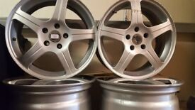 4 XER alloy wheels suitable for Mercedes