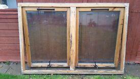 Large double glazed window 180cm x120cm
