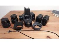 Bronica SQ-A SQA Medium Format Film Camera Kit/Bundle