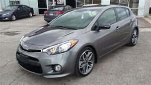 2016 Kia Forte5 SX-Turbo Navi SUNROOF & LEATHER