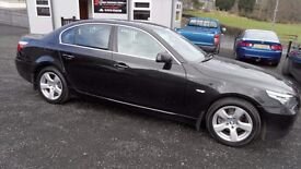 2008 BMW 520d SE Manual 6 speed, only 79000miles, good service history, test drive recommended