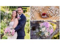 Beautiful wedding photography, custom wedding website included