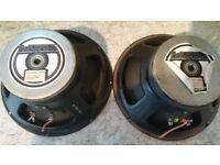 McKenzie 12'' 16ohm 100watt guitar speaker pair