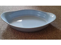 Blue Ceramic Oven Dish - Ideal for Lasagnes, Fish/Cottage/Shepherds Pies