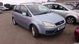 2004 FORD CMAX ZETEC, 2.0 DIESEL BREAKING FOR PARTS ONLY, POSTAGE AVAILABLE NATIONWIDE