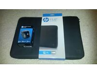 "15.6"" Laptop/Netbook Soft Case + 2.4GHz Wireless Mouse - Both brand new! RRP£42 Christmas Xmas gift"