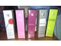 Perfumes 50ml by virtual brands. £5 each