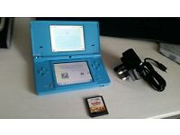 Nintendo DSi with Camera Charger and Game