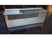 Retail Shop Glass Front Counter