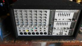 PHONIC MIXER, 740 Powered Deluxe