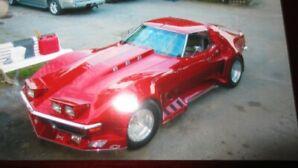 1972 Chevrolet Corvette 36000 KM  39999 ferme a voir