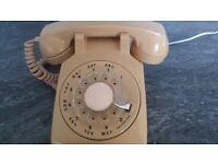 Retro Phone Ivory