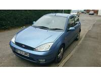 Mint ford focus.needs new clutch so sell cheap