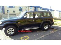 nissan patrol sve 3.0 turbo diesel 4x4 7seater 2004 04 plate