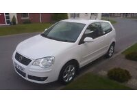 2008 VOLKSWAGEN POLO 1.4 MATCH TDI 70, 84K, £30 P/YR TO TAX! LONG MOT, VERY ECONOMICAL!