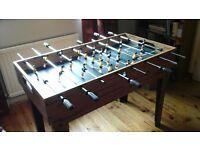 Table football plus pool table, table tennis etc.