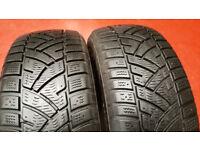 205 55 16 2 x tyres Cooper WM-ST3 Winter M+S