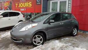 2015 Nissan Leaf SV / JAMAIS ACCIDENTÉ / GPS / CAMERA DE RECUL
