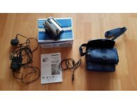 Panasonic SDR-H20 Camcorder - original box, carry case and all cables