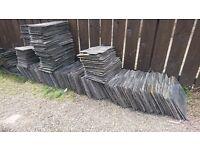 "Reclaimed Roof Slates 18""x 9"" (550 available) £1.00 each"