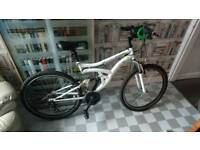 Unisex full suspension mtb bike