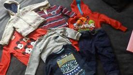 Boys clothes 18-24months