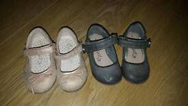 4 pairs of Toddler girls size 4 Next shoes