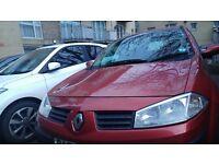 Renault MEGANE (2004) MOT until 5th JAN 2018