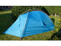 Vaude Hogan tent. Old but only used for 4 nights so in good condition.