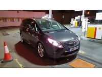 PCO Rent 2014 Vauxhall Zafira Tourer 7 SEATER 1.4 Manual £130 p/w PCO APPROVED CAR FOR HIRE
