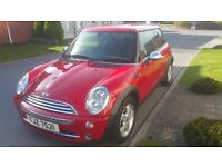 2006 MINI ONE 1.6, ONLY 61K!! SOLD WITH FULL MOT, 3 MONTH WARRANTY, E/W, RCL ETC!!