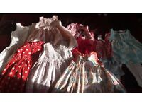 Bundle of 12m-3yr years girls clothes