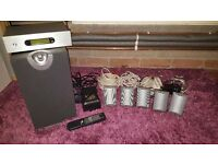 Acoustic Energy 5.1 surround sound with subwoofer AEGO-5