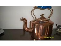 Copper Kettle with glass handle