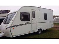 ABBEY VOGUE 470 fixed bed 4 berth 2007 ( superb caravan )