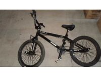 GT Tour BMX Bike with stunt pegs (black