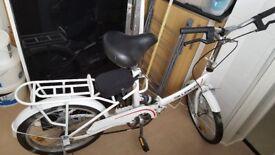 folding bike, only 80 pounds