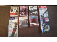 History of the Second World War volumes 1-8