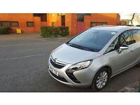 PCO CAR HIRE RENT- VAUXHALL ZAFIRA TOURER SE CDTI MPV (2012) UBER READY £125 PER WEEK
