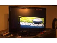 22 Inch Logik L22LDVB21 Full HD 1080p Digital Freeview LED TV DVD Combi