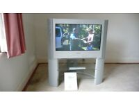 "Sony digital tv 28"". Silver."