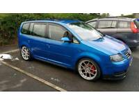 Volkswagen Touran 1.9TDI not civic type r corsa astra vxr mini leon caddy jetta golf a4 evo skyline