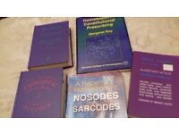 Homeopathic Books for Students - for sale - second hand but very good condition - please collect